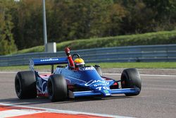 Le vainqueur Loïc Deman, Tyrrell 010