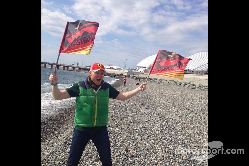 Фото болельщиков с Гран При России
