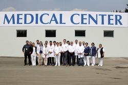 Personale del Centro Medico dell'Autodromo Hermanos Rodríguez