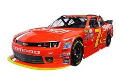 Justin Allgaier's 2016 JR Motorsports paint scheme