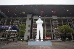 El ambiente en el Circuito Internacional de Shanghai