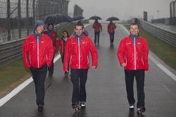 Andre Lotterer, Benoit Tréluyer, Marcel Fässler, Audi Sport Team Joest