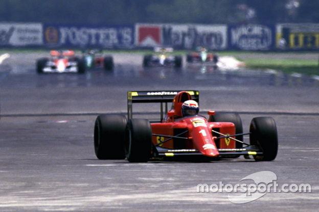 Alain Prost, Ferrari, Gran Premio del Messico 1990