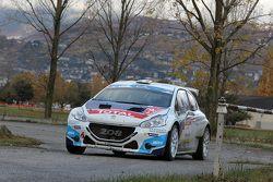 Крейг Брин и Скотт Мартин, Peugeot 208 T16, Peugeot Rally Academy