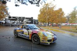 Francois Delecour e Sabrina de Castelli, Porsche 911 GT3