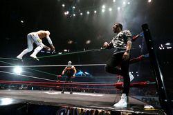 Lewis Hamilton Mexico City'de güreş etkinliğine katılıyor