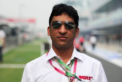 J. Anand, head of operations of Team MRF