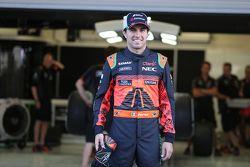 Sergio Perez, Sahara Force India F1, avec une combinaison spéciale pour le GP du Mexique