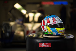 Helmet of Alexander Wurz, Toyota Racing