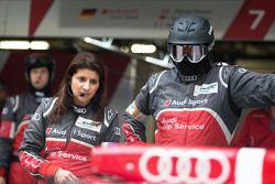 Leena Gade, race engineer Audi Sport Team Joest