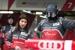 Leena Gade, race engineer Audi Sport Team Joest