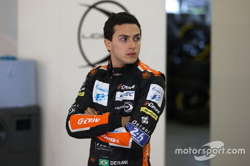 Luis Felipe Derani, G-Drive Racing