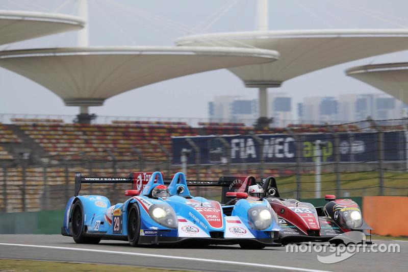 #29 Pegasus Racing Morgan-Nissan: David Cheng, Ho-Pin Tung, Alex Brundle and #43 Team Sard Morand Mo