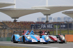 #29 Pegasus Racing Morgan-Nissan: David Cheng, Ho-Pin Tung, Alex Brundle; #43 Team Sard Morand Morga