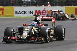 Jolyon Palmer, Lotus F1 E23 Test lidera a Pastor Maldonado, Lotus F1 E23