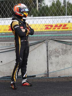 Romain Grosjean, Lotus F1 Team gestopt