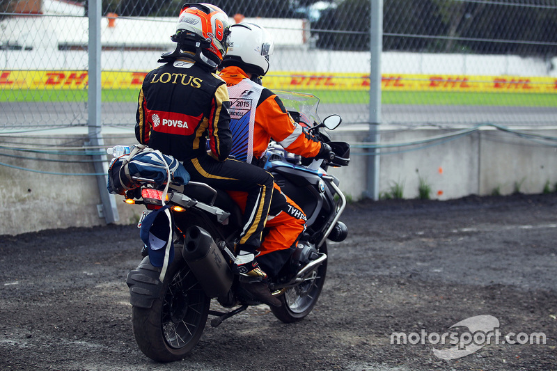 Гран При Мексики, 30 октября. Ромен Грожан