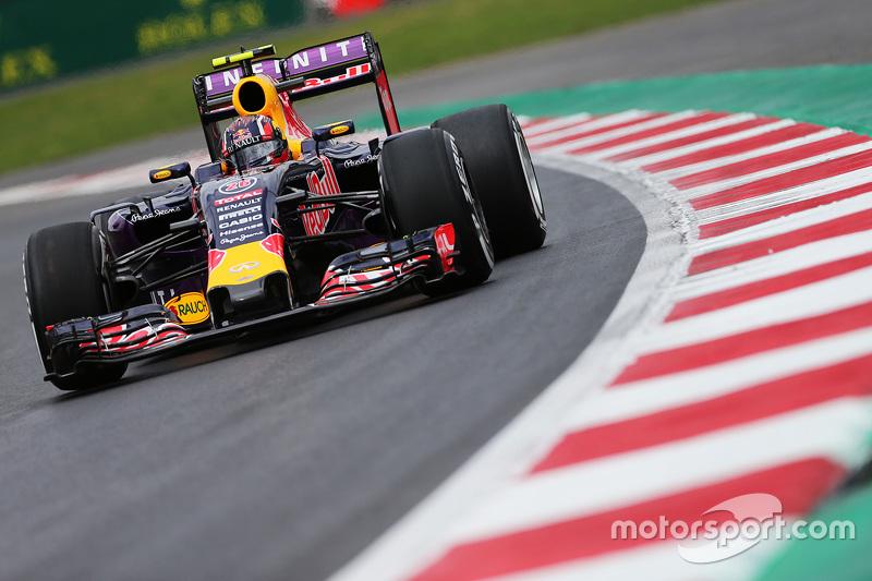 2015 год. За рулем болида Red Bull RB11 по ходу второй пятничной тренировки