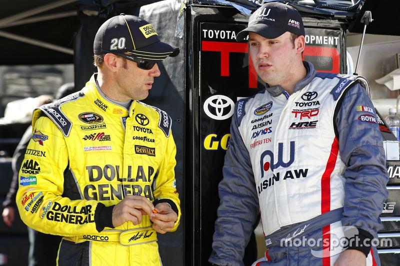 Метт Кенсет, Joe Gibbs Racing Toyota та Росс Кенсет