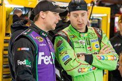 Denny Hamlin et Kyle Busch, Joe Gibbs Racing Toyota