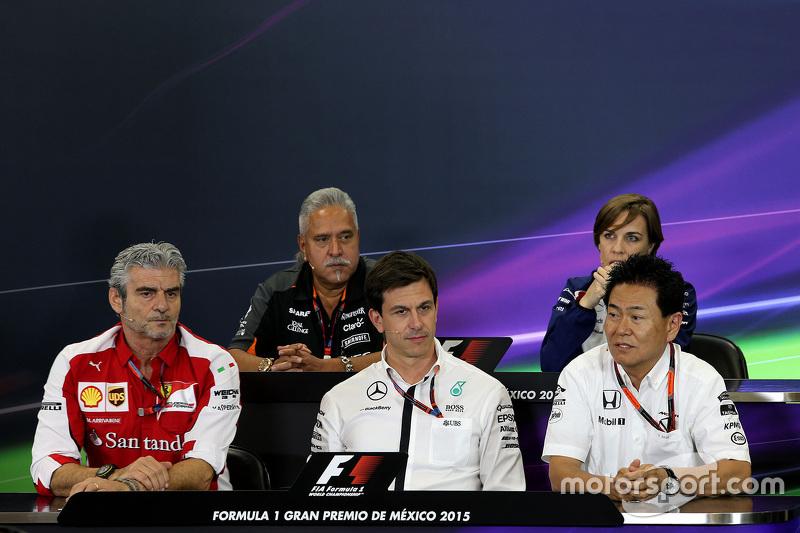 Maurizio Arrivabene, Scuderia Ferrari, Yasuhisa Arai, Honda Motorsport.