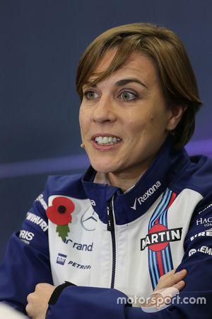 Claire Williams, Williams F1 Team 30