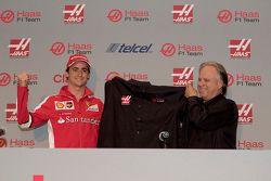 Esteban Gutiérrez e Gene Haas