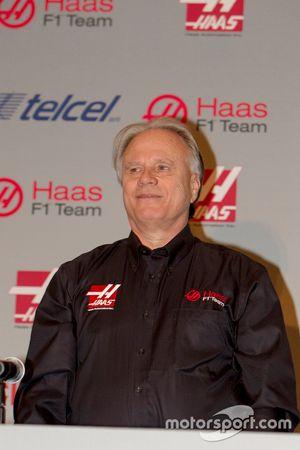 Gene Haas, Haas F1 Takımı Başkanı