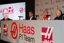 Carlos Slim, Presidente dell'América Móvil, Esteban Gutiérrez Haas F1 Team, Gene Haas