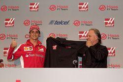 Esteban Gutiérrez, Haas F1 Team en Gene Haas teameigenaar