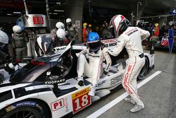#18 Porsche Team Porsche 919 Hybrid : Romain Dumas, Marc Lieb