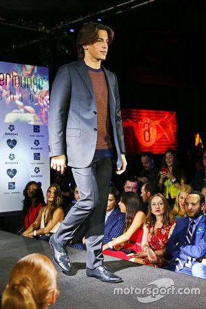 Roberto Merhi, Manor Marussia F1 Team à l'Amber Lounge Fashion Show