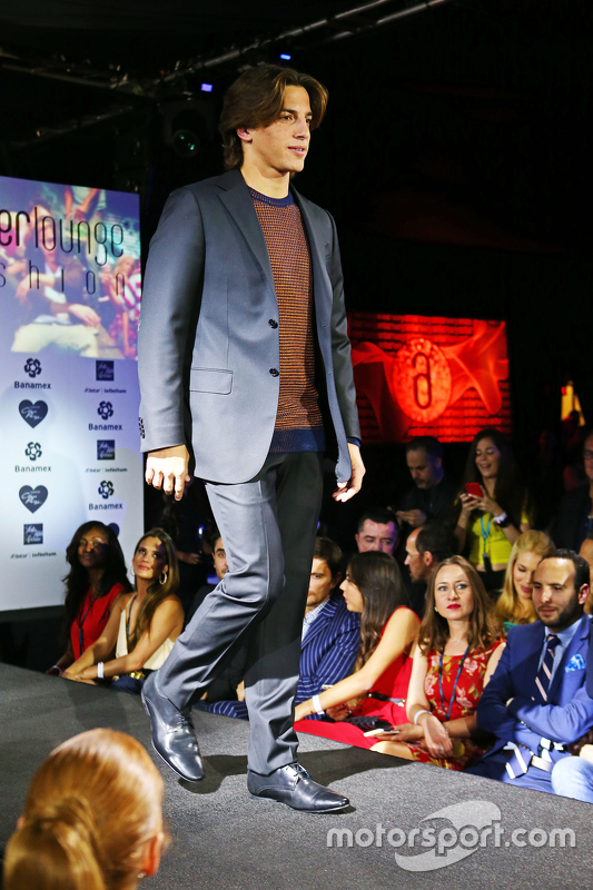 Roberto Merhi, Manor Marussia F1 Team at the Amber Lounge Fashion Show