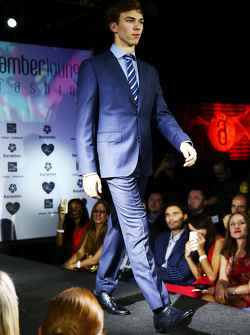 Raffaele Marciello, Sauber F1 Team test- en reserverijder op de Amber Lounge Fashion Show