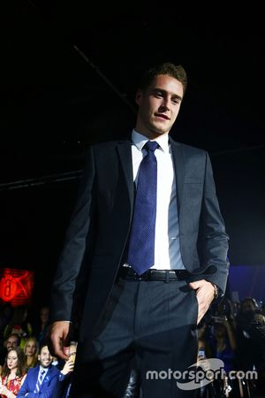Stoffel Vandoorne, McLaren Test and Reserve Driver at the Amber Lounge Fashion Show