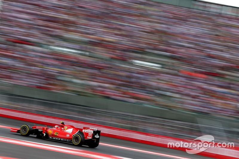 #6: Kimi Räikkönen in voller Fahrt