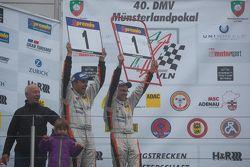 Champions #285 Groneck Motorsport Renault Clio: Tim Groneck and Dirk Groneck