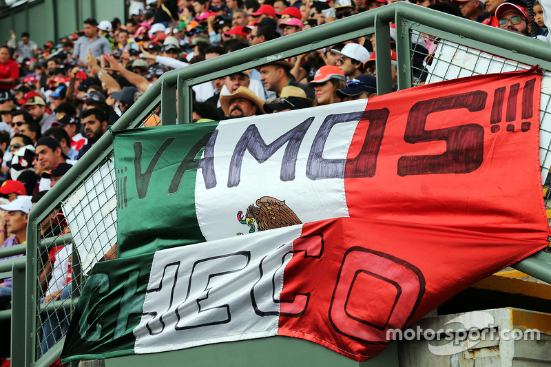 Fans voor Checo