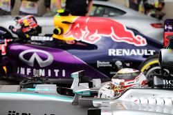 Tweede plaats Lewis Hamilton, Mercedes AMG F1 W06