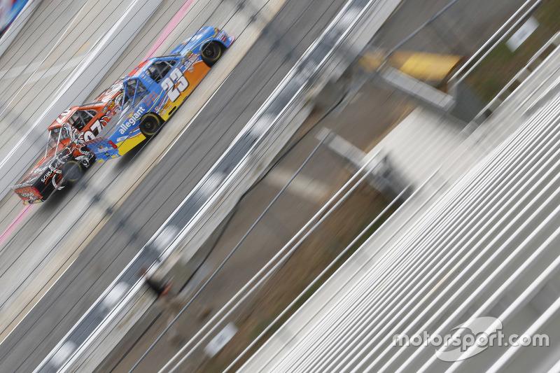 Spencer Gallagher, GMS Racing Chevrolet y Ray Black Jr., SS-Green Light Racing Chevrolet