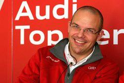كريس رينكه، المسؤول عن برنامج أودي لسيارات لومان النموذجية