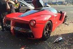 Crash d'une LaFerrari à Budapest