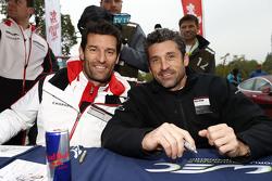 Mark Webber, Porsche Team con Patrick Dempsey, Dempsey Proton Racing
