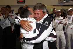 Alexander Hitzinger, Technischer Direktor LMP1, mit LMP1-Leiter Fritz Enzinger, Porsche Team