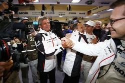 Fritz Enzinger, LMP1-Leiter, mit Teamchef Andreas Seidl, Porsche Team