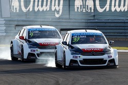 Хосе-Мария Лопес, Citroën C-Elysée WTCC, Citroën World Touring Car team и Себастьен Лёб, Citroën C-E