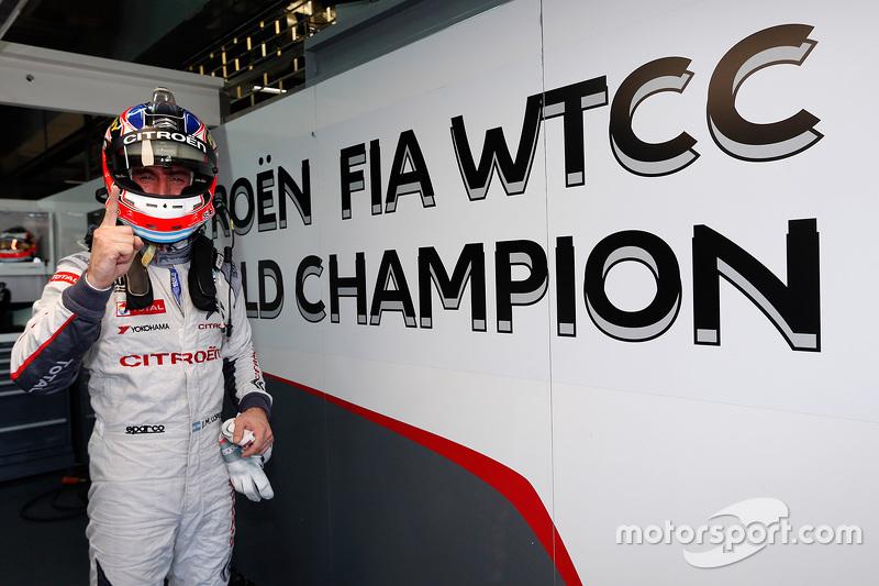 José María López, Campeón 2015, Citroën C-Elysée WTCC, Citroën World Touring Car team