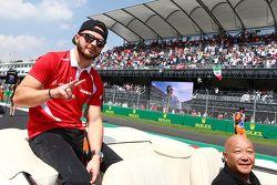 Will Stevens, Manor Marussia F1 Team nella drivers parade