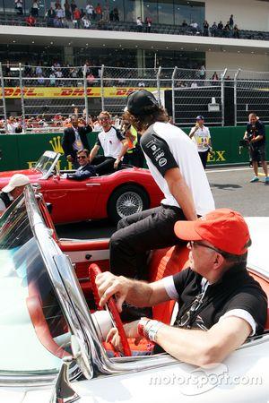 费尔南多·阿隆索、简森·巴顿,迈凯伦车队