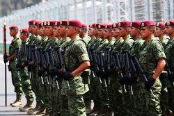 الجيش على شبكة الإنطلاق